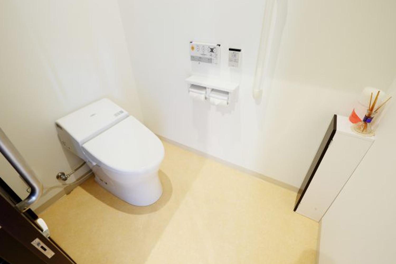 静岡市の小嶋デンタルクリニック トイレ