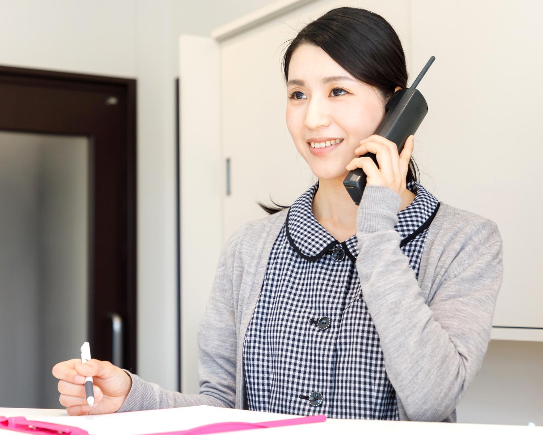 小嶋デンタルクリニックの訪問歯科の流れ お申込み